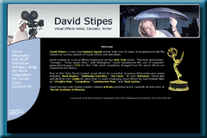 David Stipes is a two time Emmy® Award winner