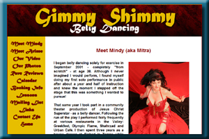 Mindy Timm (Mitra) and Arlene - Phoenix Belly Dancing duo